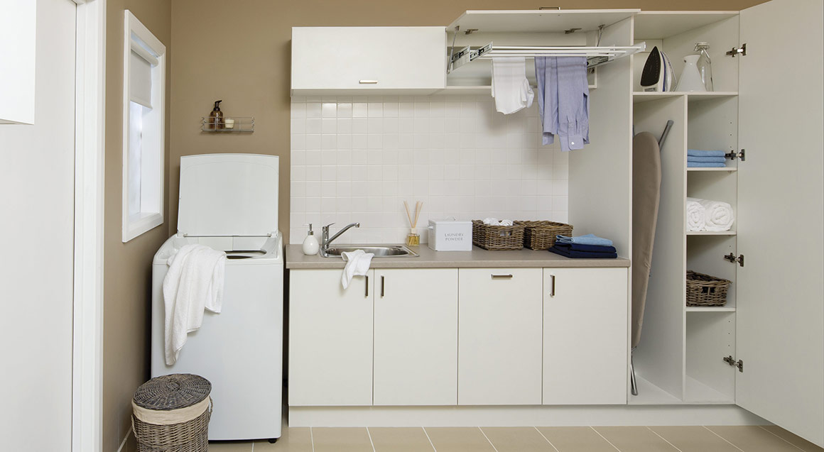 Laundry room cabinets bunnings cabinets matttroy for Kitchen cabinets bunnings