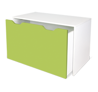flatpax kids furniture - green kids desk