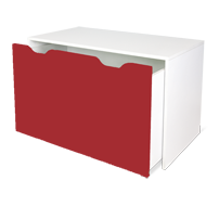 flatpax kids furniture - red kids desk