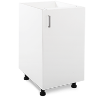 450mm white laundry cupboard