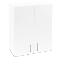 600mm white laundry cupboard - wall