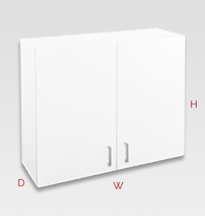 900mm white laundry cupboard - wall specs and instructions
